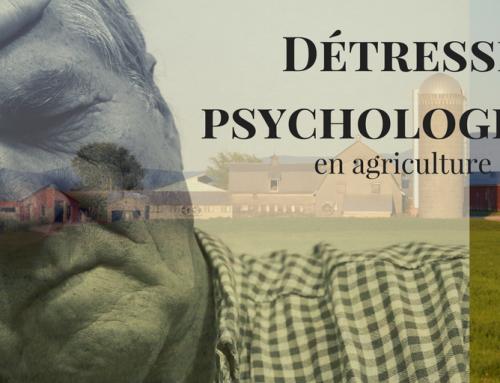 Stress en agriculture, détresse psychologique et suicide : qu'en est-il vraiment?