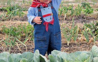 jeune enfant agriculteur relève familiale
