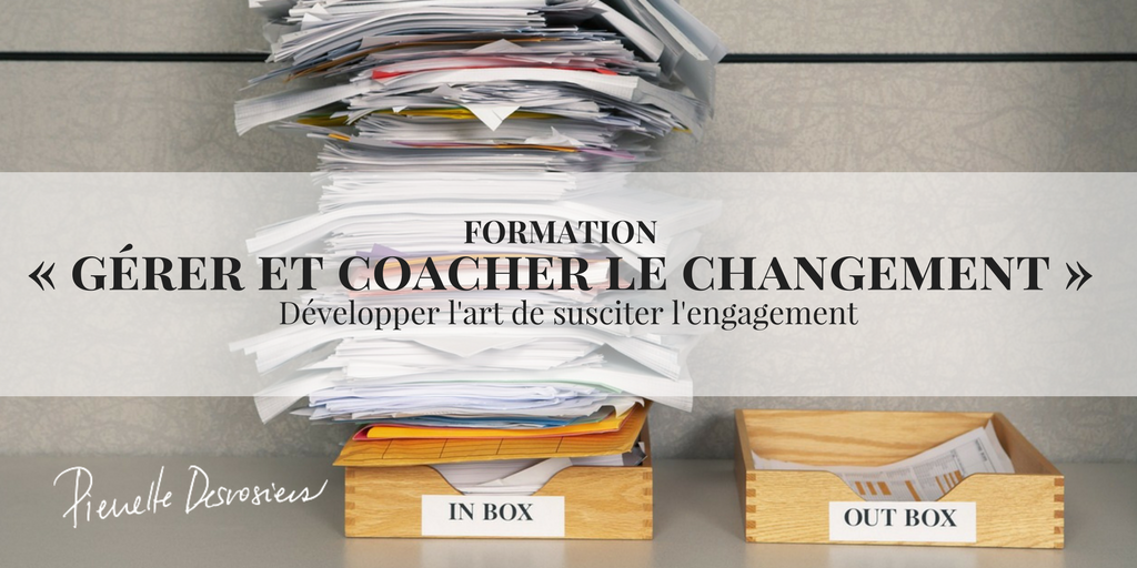 formation coacher le changement inbox plein dossier