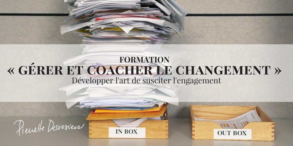 formation coacher le changement inbox plein dossier